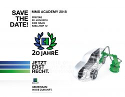 Save the date MMS Academy 2018